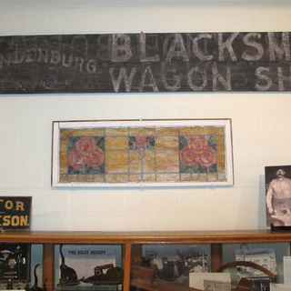 K.T. Brandenburg display at Riley Co. Historical Museum