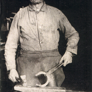 K.T. Brandenburg, Blacksmith in Randolph